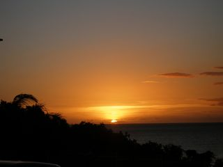 Cabo Rojo condo photo - Sunset view from pool area