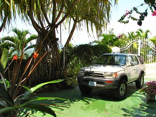 Manuel Antonio villa photo - Secure parking beside The Villa for your car!