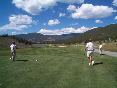 Keystone Has Two 18 Hole Golf Courses For Your Summer Enjoyment