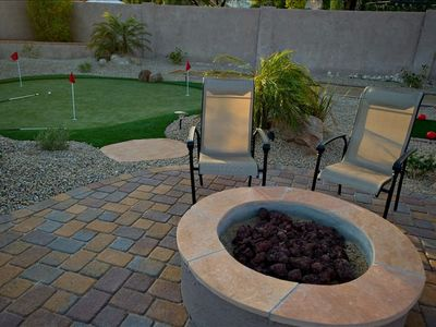 Natural Gas Firepit\Putting Green\Chipper