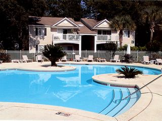 St. Simons Island condo photo - Beautiful front heated pool