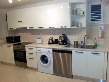 Modern Kitchen with large range of appliances