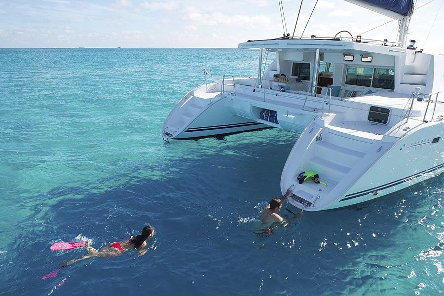 Greek island catamaran private charter for up vrbo for By the cabin catamaran charters