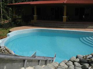 Uvita house photo - Huge Pool with Waterslide