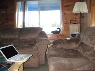 East Grand Lake cabin photo - living room