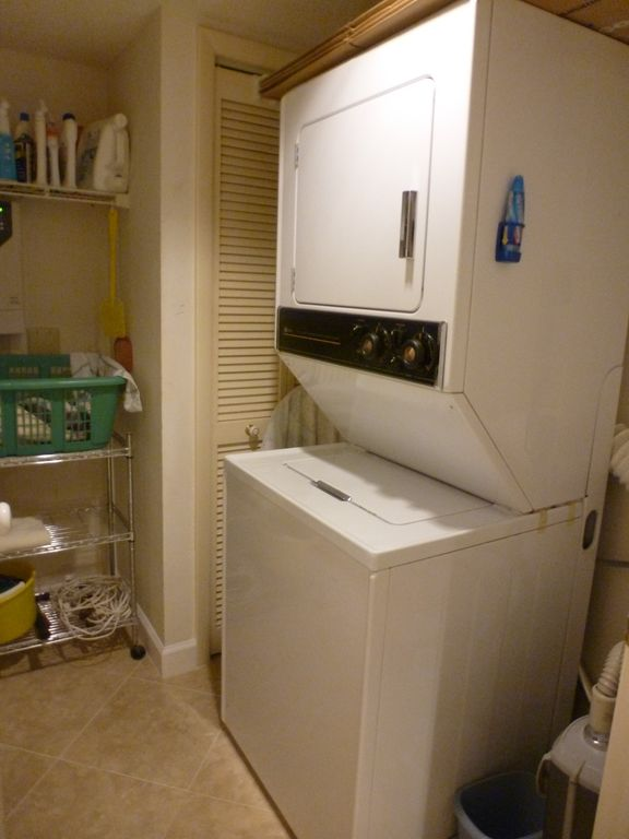 LAUNDRY ROOM WITH WASHER AND DRYER (IN CONDO)