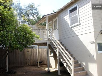 San Luis Obispo house rental - Entrance to the guest house.