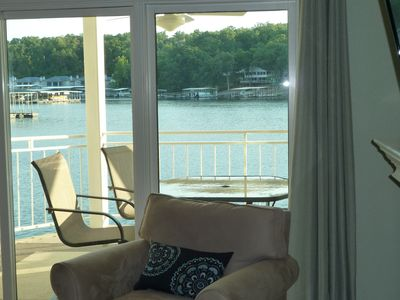 Osage Beach condo rental - Lake view from family room