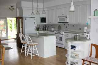 Bantam Lake house photo - Sparkling white kitchen