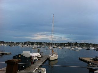 Marblehead apartment photo - Our town landing which is 2.5 blocks from our front door.