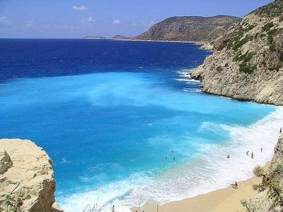 Kalkan villa rental - Catch a Boat from the Harbour to the Patara Beach