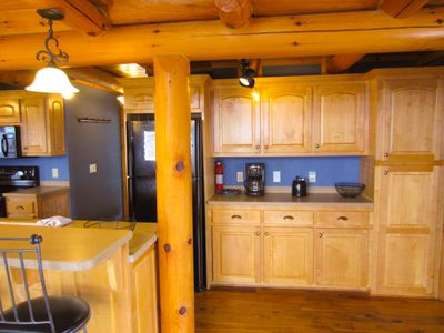 Carolina Cabin Rentals Cloud 9 Additional Cabinets and Counter space