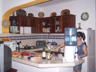 Akumal condo photo - Our kitchen is fully equipped for great cooking
