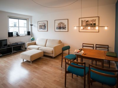 Beautiful apartment in Eppendorf furnished with balcony and mid century furniture