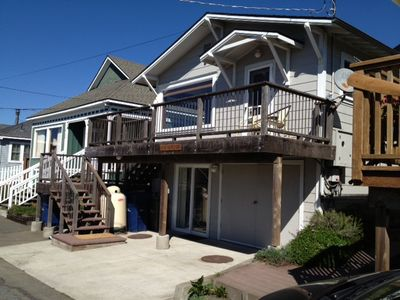 Front of home. Deck is great place to hang out and enjoy view.
