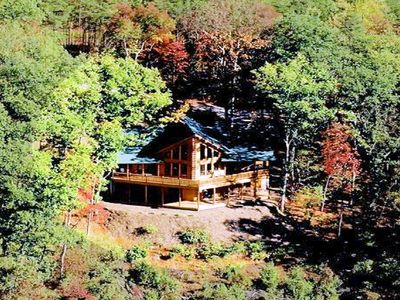 The Summit Lodge ... totally private and secluded