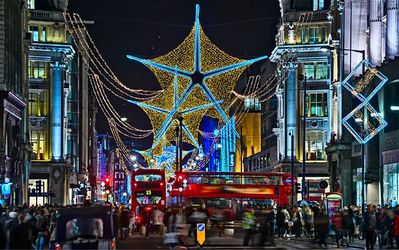 Oxford St - Europe's largest shopping destination is right outside the flat