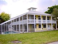 Tropical Key West Style Pool Home in Jensen Beach