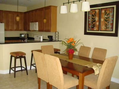 Fort Myers condo rental - Dining Room/Breakfast Bar/Kitchen