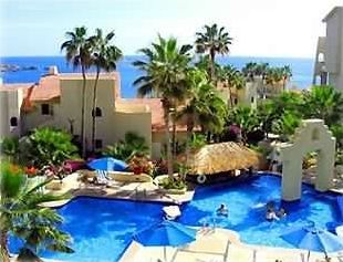 View of pool and Sea of Cortez from your private balcony.