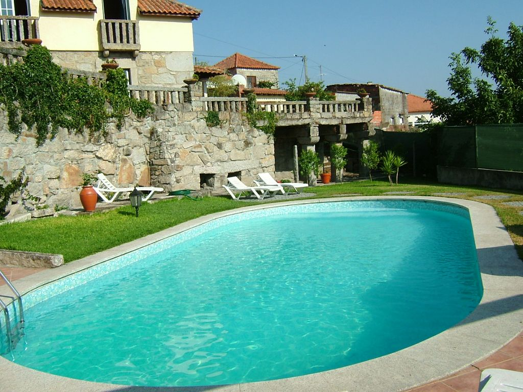 Rustic House With Swimming Pool Games Homeaway Viana Do Castelo