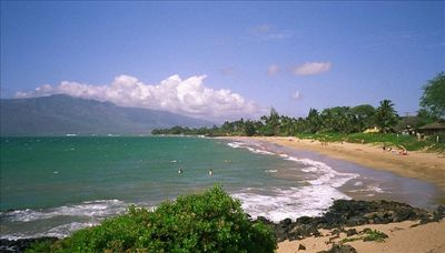One of Maui's Finest Swimming Beaches is in Front of Resort