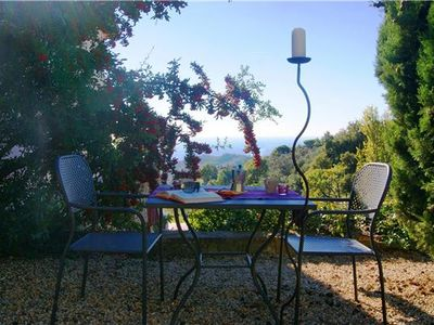 Apartment for 4 people, with swimming pool, in Italian Riviera