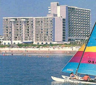 The Blue Water Resort 2001 S Ocean Blvd. Myrtle Beach SC 29577