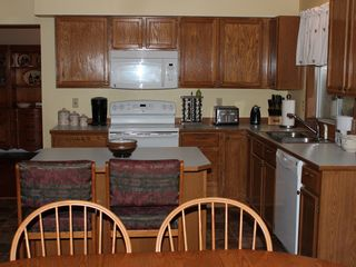 Kent house photo - Fully stocked kitchen with toaster, bread maker, blender, steamer, etc.