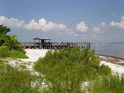 TRY YOUR LUCK & CAST A LINE OFF THE OLD SANIBEL FISHING PIER