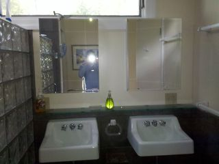 Christmas Cove house photo - .First floor master bath sinks.