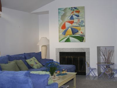 Brigantine townhome rental - Living Room