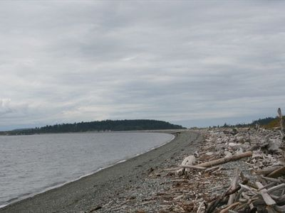 Coupeville house rental - Miles of beach 1 mile from home. Fish Salmon from shore or take your boat out.