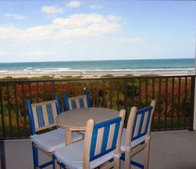 Cocoa Beach condo photo - Ocean View from the living area