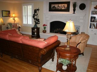 St. Simons Island house photo - Living Room with 42 inch Flat Screen TV