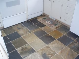 Fraser townhome photo - Slate Floor in Kitchen