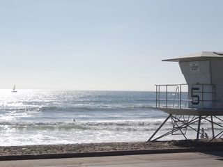 Oceanside house photo - Tyson street beach lifeguard tower 5 just around the corner.