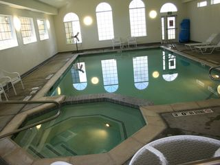 Midway condo photo - Indoor pool and hot tub at WorldMark clubhouse.