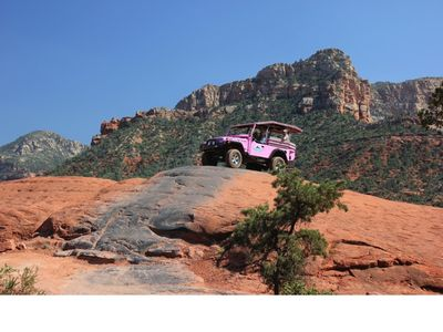 Take the Pink Jeep Tour in Sedona