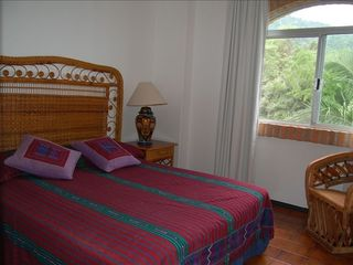 Puerto Vallarta condo photo - Queen size Bedroom #2 overlooking Gardens