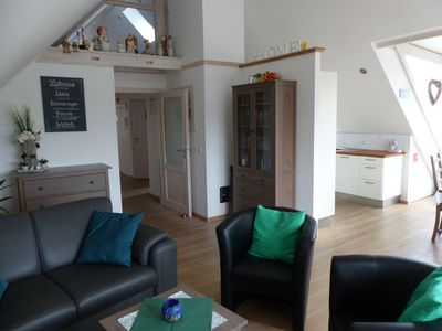 4 star apartment in Kevelaer, Lower Rhine, large roof terrace, 900m from the center
