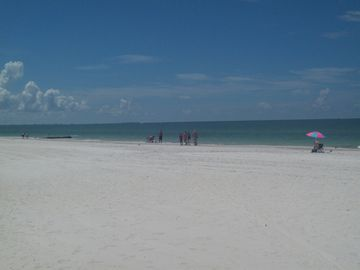 walk on the beach or lay out and soak up the Florida sun!