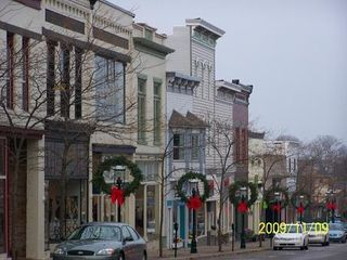 Petoskey condo photo - Part of the unique shopping district of Petoskey