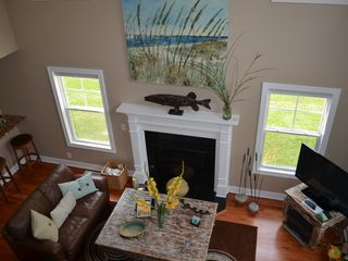 Saugatuck / Douglas house photo - Living Room/Bar View from Loft