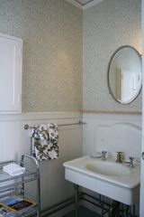 Bar Harbor house photo - Vintage details, master bath