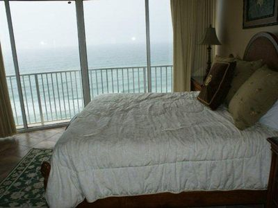 Master Bed Room and Gulf Front View