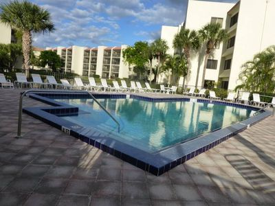 Close to Pool within 100 feet of condo