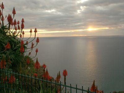 Sunset view at Garajau point