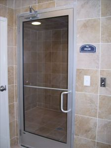 Our amenities are incredible!!  Pictured here is our womens steam room.