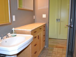 Bainbridge Island house photo - guest room bathroom/shower